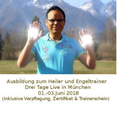 Heilerseminar Ausbildung zum Heiler und Engeltrainer mit Hellseher Udo Golfmann