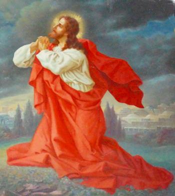 betender Jesus