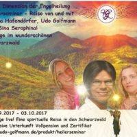 spiritueller Urlaub Heileraubildung mit Hellseher Udo Golfmann Nadja Hafendörfer und Sina Serafina